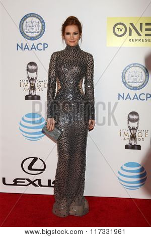 LOS ANGELES - FEB 5:  Darby Stanchfield at the 47TH NAACP Image Awards Arrivals at the Pasadena Civic Auditorium on February 5, 2016 in Pasadena, CA