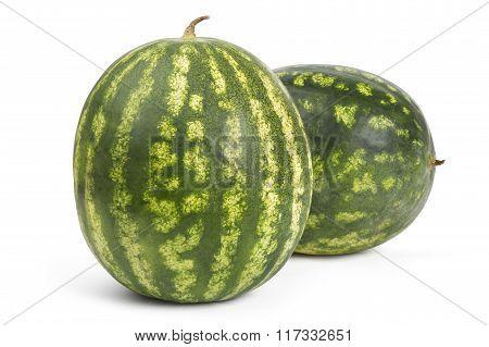 Sweet ripe watermelons