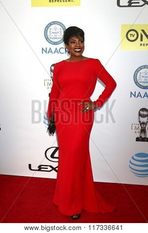 LOS ANGELES - FEB 5:  Sheryl Lee Ralph at the 47TH NAACP Image Awards Arrivals at the Pasadena Civic Auditorium on February 5, 2016 in Pasadena, CA