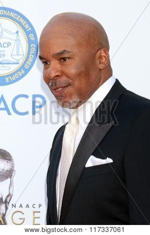 LOS ANGELES - FEB 5:  David Alan Grier at the 47TH NAACP Image Awards Arrivals at the Pasadena Civic Auditorium on February 5, 2016 in Pasadena, CA