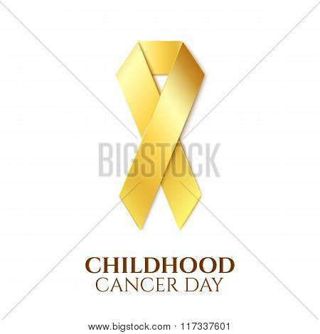 Childhood cancer day.