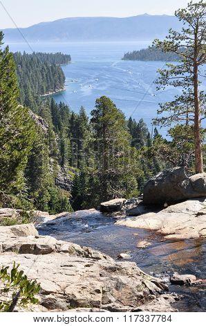 Tahoe Lake, California
