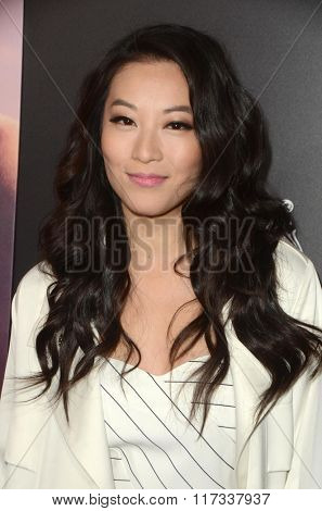 LOS ANGELES - FEB 1:  Arden Cho at the The Choice Special Screening at the ArcLight Hollywood Theaters on February 1, 2016 in Los Angeles, CA