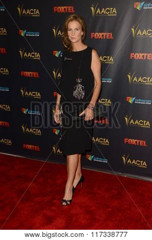LOS ANGELES - JAN 29:  Rachel Griffiths at the 2016 AACTA International Awards at the PETA's Bob Barker Building on January 29, 2016 in Los Angeles, CA