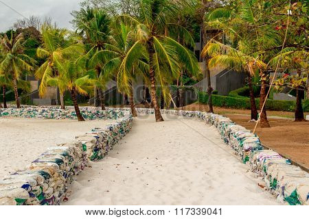 The Path To The Bungalows