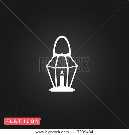 Lantern flat icon