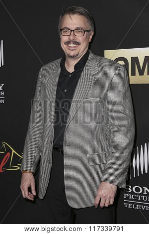 LOS ANGELES - FEB 2:  Vince Gilligan at the Better Call Saul Season Two Special Screening at the ArcLight on February 2, 2016 in Culver City, CA