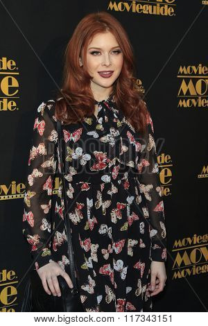 LOS ANGELES - FEB 5:  Renee Olstead at the 24th Annual MovieGuide Awards at the Universal Hilton Hotel on February 5, 2016 in Los Angeles, CA