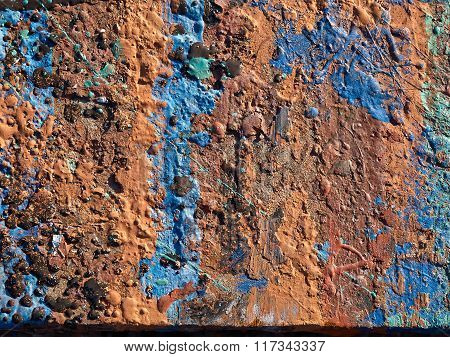 Iron Metal Surface Rust Background