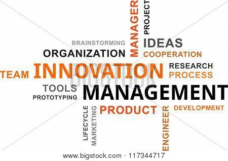 Word Cloud - Innovation Management