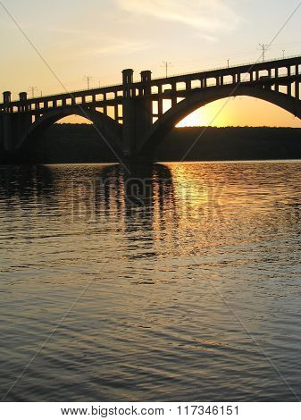 The bridge on the river