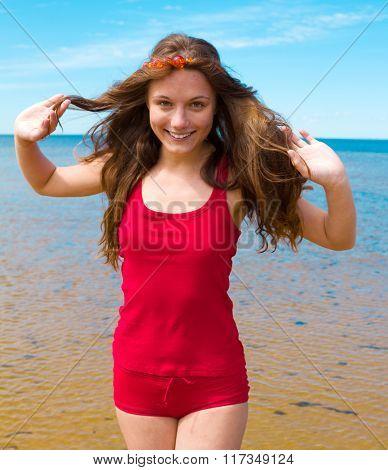Girl's Joy Beach Girl