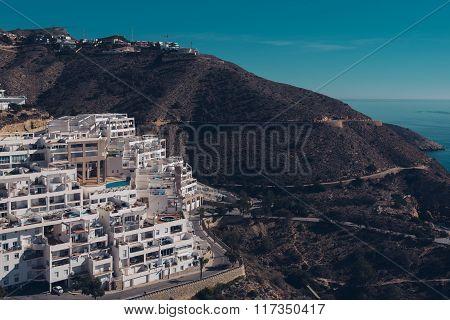 Hillside Apartments Near The Mediterranean Sea. Alicante, Costa Blanca. Spain
