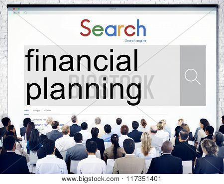 Financial Planning Banking Investment Money Concept