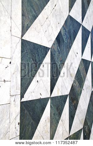 Busto   Lombardy Italy   Pavement Of   Curch And