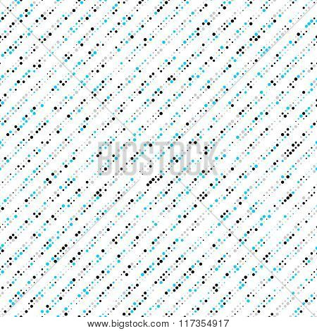 Seamless Stripe Pattern. Vector Dot Texture