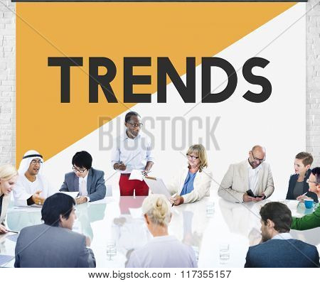 Business People Meeting Treads New Modern Concept