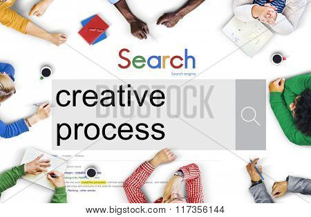 Creative Process Ideas Plan Strategy Design Concept