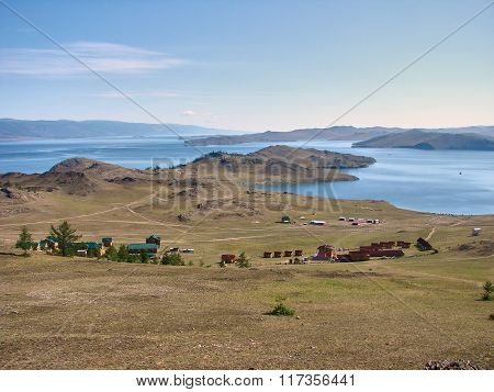 Lake Baikal - View From The Mountain