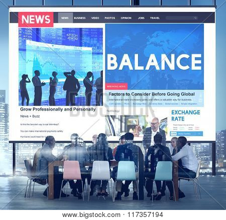 Balance Finance Banking Credit Debit Concept