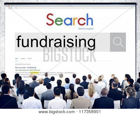 Fundraising Funding Finance Donation Charity Aid Concept