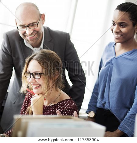 Businesswomen Career Occupation Professional Concept