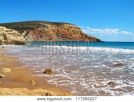 Provatas beach Milos island Greece