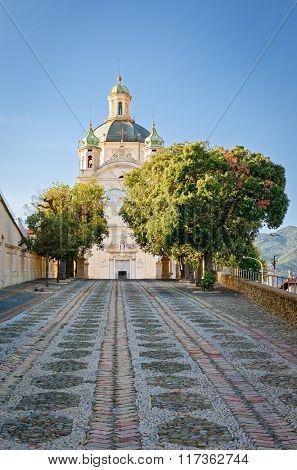Sanremo, Church Of Madonna Della Costa