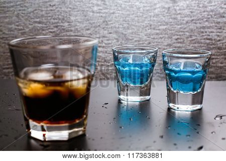 Whiskey-cola With Ice