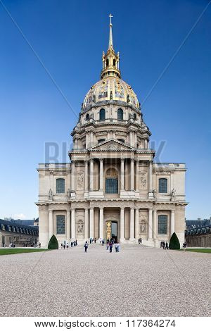 Chapel of Saint Louis des Invalide, Paris.