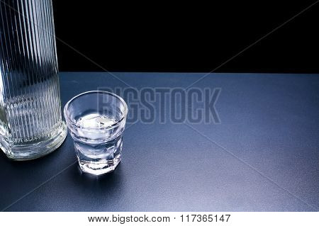 Russian Vodka Background