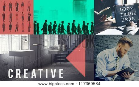 Creative Thinking ideas Imagination Innovation Inspiration Concept