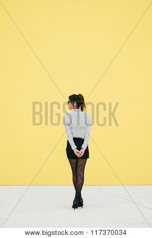Professional Modern Business Woman Waiting