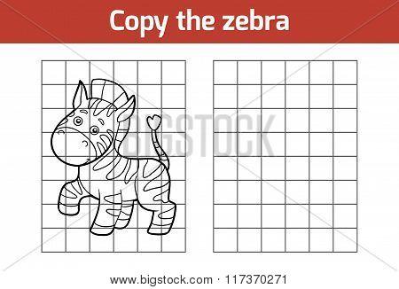 Copy The Picture (zebra)