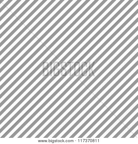 Seamless geometric pattern. Stripy texture. Diagonal gray strips on white background. Vector