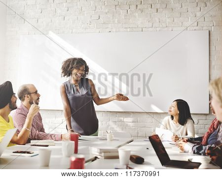 Connection Corporate Brainstorming Togetherness Concept