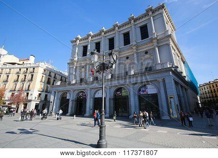 Opera Of Madrid Or Teatro Real