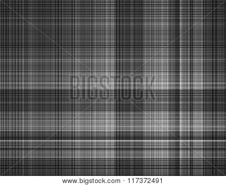 Black and white squares pattern background.