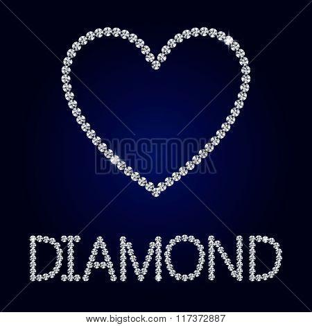 Shiny Heart Diamond