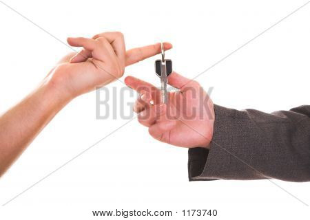 Giving House Key