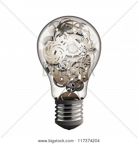 Gear in the lightbulb