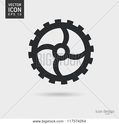 Gear icon design