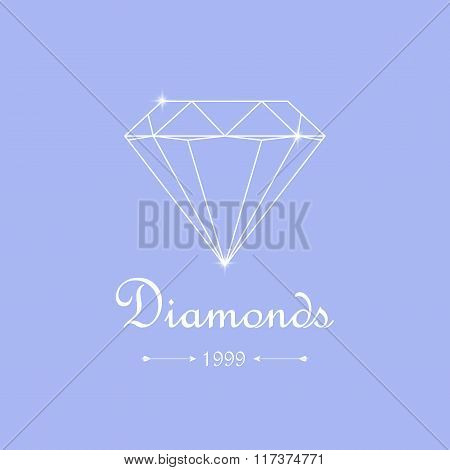 Diamond Shopping Emblem