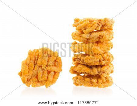 Spiced Rice Crispy