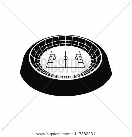 Football round stadium icon