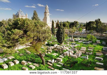 Dormition abbey cemetery.