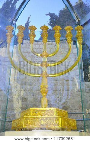Jerusalem menorah.