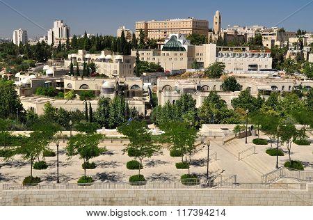 Jerusalem landscape.