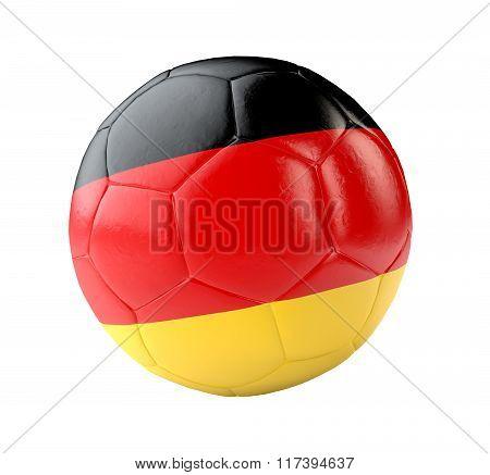 Soccer Ball Germany 3D