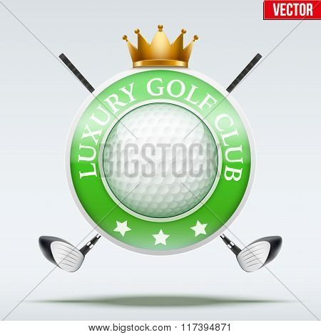 Label of Luxury Golf clubs